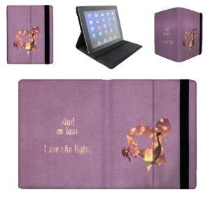 【 国内未発売 】 ディズニー プリンセス 塔の上のラプンツェル シルエットデザイン iPad / iPad-mini ケース