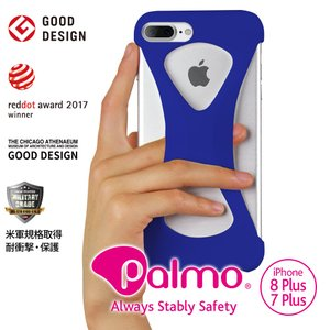 Palmo for iPhone8Plus iPhone7Plus Blue パルモ 青 iPhon...