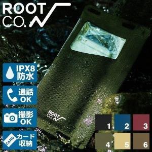 スマホ 防水ケース アイフォン7 完全防水ケース スマートフォン iPhone6s 防水ケース 耐摩耗性 ROOT CO. H2O Water Proof Shell. IPX8 ルートコー|iplus