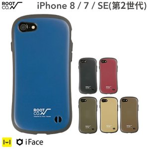 スマホカバー iPhone8 アイフォン8 ケース iPhone7 アイフォン7 iFace アイフェイス ROOT CO. ブランド 耐衝撃 ルートコー スマホケース メンズ|iplus