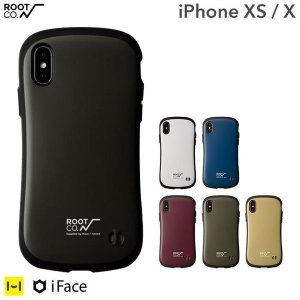 スマホカバー iPhoneX アイフォンX ケース カバー アイホンX 耐衝撃 iface アイフェイス ROOT CO. ルートコー アウトドア スマホケース メンズ|iplus