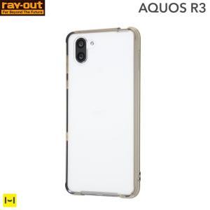 AQUOS R3 ケース アクオス R3 ケース ブラック ハイブリッドケース