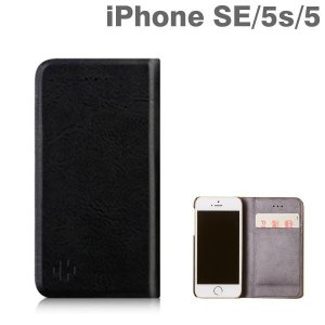iphoneSE iphone5s iphone5 ケース 手帳型 カバー simplism  (FlipNote Pocket) フリップノートポケットケース(ブラック) iPhone se アイフォン|iplus