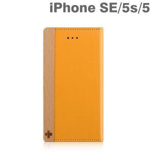 iphoneSE iphone5s iphone5 ケース 手帳型 カバー simplism  (FlipNote) フリップノートケース(キャメル) iPhone se アイフォン アイホン|iplus