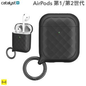 AirPods ケース catalyst カタリスト リングクリップケース  ブラック