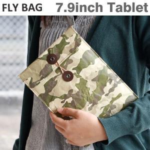 FLY BAG フライバッグ iPad ケース M(カモフラ)ペーパーバッグ タイベック(R) ブランド 迷彩|iplus