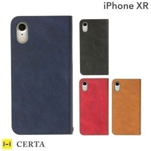 iphonexr ケース 手帳型 iphone xr 手帳 アイフォンxr ダイアリーケース スマホケース スマホカバー シンプル アイホン テンアール CERTA|iplus