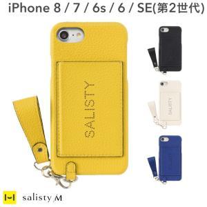 iphoneX ケース 手帳型 おしゃれ 女子 iPhoneXS ケース iphone 8 ケース iphone7 6s 6 salisty サリスティ M パンチング ロゴ ハードケース iplus