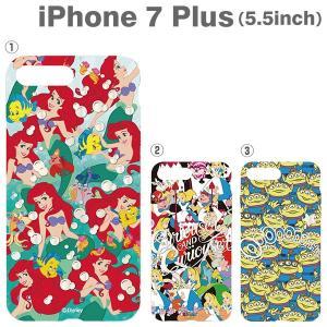 (iPhone 7 Plus専用)ディズニーキャラクターソフトケース|iplus