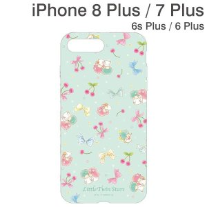 アイフォン8プラス ケース iPhone8Plus アイフォン7プラス iPhone6sPlus iPhone6Plus サンリオキャラクターズソフトケース キキ&ララ|iplus