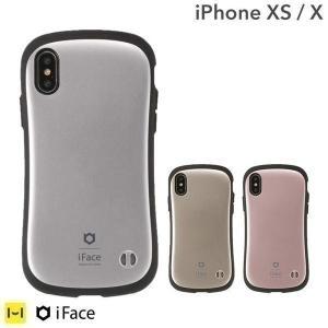 スマホカバー iPhoneX ケース iFace アイフェイス アイフォンX ケース iPhone X スマホケース メンズ First Class Metallic メタリック ハードケース 耐衝撃|iplus