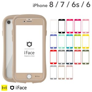 iphone8 フィルム  ガラス iface アイフェイス ガラスフィルム iphone7 iphone6s iphone6 ラウンドエッジ 強化ガラス 液晶保護シート|iplus