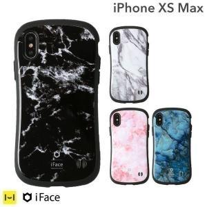 iPhone XS Max ケース 耐衝撃 iFace アイフェイス マーブル 大理石 ケース 人気 ブランド 可愛い アイフォンXS マックス スマホケース Marble|iplus