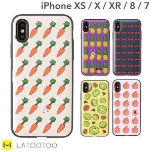 iPhone8 7 ケース 可愛い おしゃれ  iPhoneXS X XR ケース カード収納 ミラー付き スマホケース Latootoo|iplus