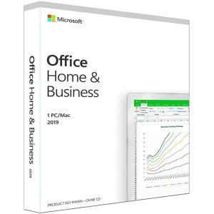 マイクロソフトオフィス 2019 Microsoft Office Home and Business 2019 for Mac 1台 プロダクトキーのみ [正規品/ダウンロード版]※代引き注文不可※