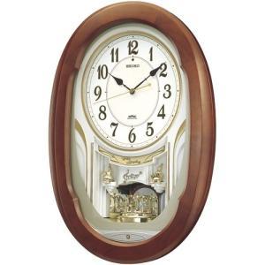 【セイコー】SEIKO 電波掛け時計 ウエーブシンフォニー・AM234H 【時の逸品館】|ippin-seiko-clock