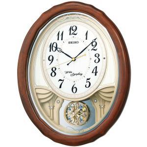 【セイコー】SEIKO 電波掛け時計 AM257B 【時の逸品館】|ippin-seiko-clock