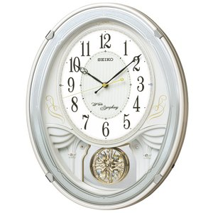 【セイコー】SEIKO 電波掛け時計 AM258W 【時の逸品館】|ippin-seiko-clock