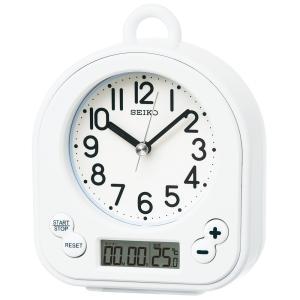 【セイコー】SEIKO 生活防水・タイマー機能付き置き時計 BZ358W 【時の逸品館】|ippin-seiko-clock