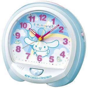 【セイコー】SEIKO キャラクター時計 目ざまし時計 シナモロール・CQ115L 【時の逸品館】 ippin-seiko-clock