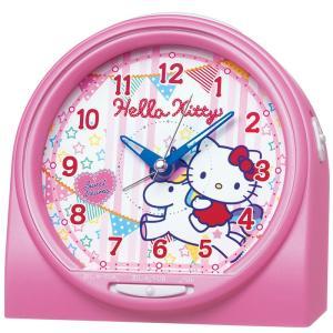 【セイコー】SEIKO キャラクター時計 目ざまし時計 ハローキティ・CQ134P 【時の逸品館】|ippin-seiko-clock
