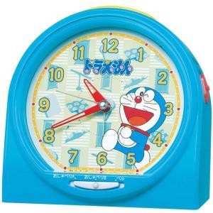 【セイコー】SEIKO キャラクター時計 目ざまし時計 ドラえもん・CQ137L 【時の逸品館】|ippin-seiko-clock
