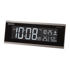 【セイコー】SEIKO LEDデジタル電波目覚まし時計 DL206S【時の逸品館】|ippin-seiko-clock