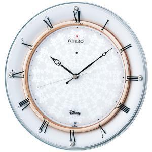 【セイコー】SEIKO 電波掛け時計 ディズニー ミッキー&ミニー・FS501W 【時の逸品館】|ippin-seiko-clock
