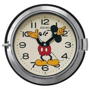 【セイコー】SEIKO ディズニー・ミッキー・レトロ・掛け時計(シルバー) FS504S 【時の逸品館】|ippin-seiko-clock