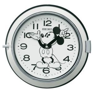 【セイコー】SEIKO ディズニー・ミッキー・レトロ・掛け時計(ホワイト) FS504W 【時の逸品館】|ippin-seiko-clock