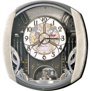 【セイコー】SEIKO ディズニータイム 電波からくり時計 ミッキー&フレンズ・FW563A 【時の逸品館】|ippin-seiko-clock