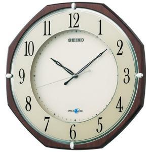 【セイコー】SEIKO 衛星電波掛け時計 スペースリンク・GP207B 【時の逸品館】|ippin-seiko-clock