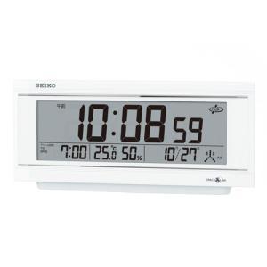 【セイコー】SEIKO 衛星電波デジタル置き時計 スペースリンク・GP501W【時の逸品館】|ippin-seiko-clock