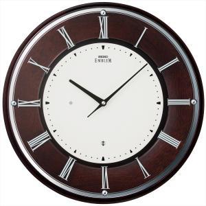 【セイコー・エムブレム】SEIKO EMBLEM 電波掛け時計 HS540B 【時の逸品館】|ippin-seiko-clock