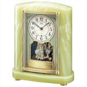 【セイコー・エムブレム】SEIKO EMBLEM 電波置き時計 HW521M 【時の逸品館】|ippin-seiko-clock