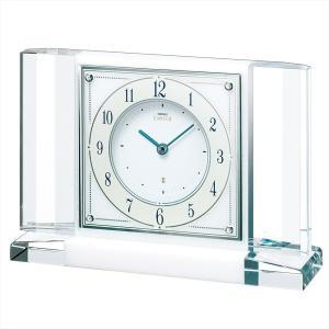 【セイコー・エムブレム】SEIKO EMBLEM 置き時計 HW564W 【時の逸品館】|ippin-seiko-clock