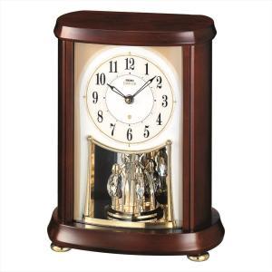 【セイコー・エムブレム】SEIKO EMBLEM 電波置き時計 HW566B 【時の逸品館】|ippin-seiko-clock
