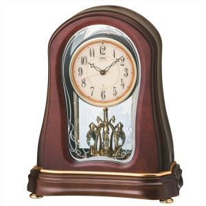 【セイコー・エムブレム】SEIKO EMBLEM 電波置き時計 HW576B 【時の逸品館】|ippin-seiko-clock