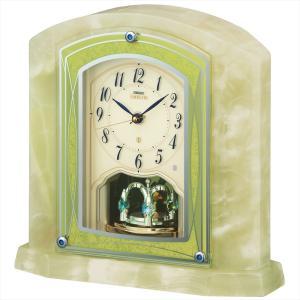 【セイコー・エムブレム】SEIKO EMBLEM 電波置き時計 HW579M 【時の逸品館】|ippin-seiko-clock