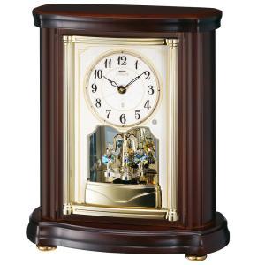 【セイコー・エムブレム】SEIKO EMBLEM 電波置き時計 HW581B 【時の逸品館】|ippin-seiko-clock