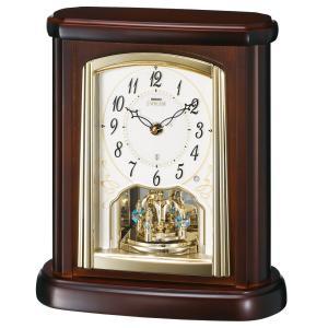【セイコー・エムブレム】SEIKO EMBLEM 電波置き時計 HW582B 【時の逸品館】|ippin-seiko-clock