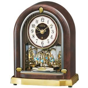 【セイコー・エムブレム】SEIKO EMBLEM 電波置き時計 HW583B 【時の逸品館】|ippin-seiko-clock