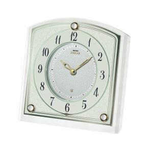 【セイコー・エムブレム】SEIKO EMBLEM 置き時計 HW588W 【時の逸品館】|ippin-seiko-clock