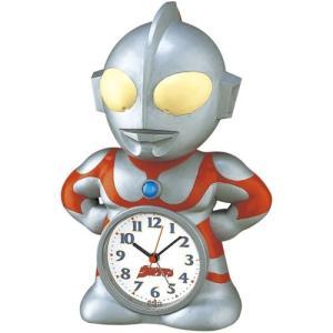 【セイコー】SEIKO キャラクター時計 目ざまし時計 ウルトラマン・JF336A 【時の逸品館】 ippin-seiko-clock
