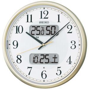 【セイコー】SEIKO 電波掛け時計 KX384S  【時の逸品館】|ippin-seiko-clock