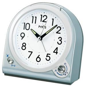 【セイコー・ピクシス】SEIKO PYXIS 目ざまし時計 ベーシックライン・NQ705L 【時の逸品館】|ippin-seiko-clock