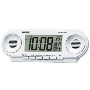【セイコー・ピクシス】SEIKO PYXIS 電波目ざまし時計 ライデン・NR531W 【時の逸品館】|ippin-seiko-clock