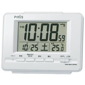 【セイコー・ピクシス】SEIKO PYXIS デジタル電波目覚まし時計 NR535H 【時の逸品館】|ippin-seiko-clock