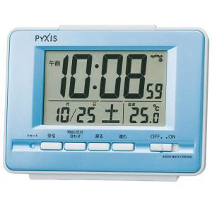 【セイコー・ピクシス】SEIKO PYXIS デジタル電波目覚まし時計 NR535L 【時の逸品館】|ippin-seiko-clock