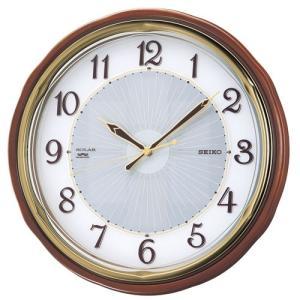 【セイコー】SEIKO ソーラー電波掛け時計 SF221B 【時の逸品館】|ippin-seiko-clock